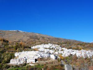 Ein weisses Dorf in den Alpujarras