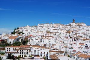 Blick auf den Ort Alcalá de los Gazules
