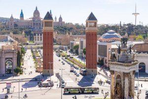 Stadt Barcelona Anda Reisen