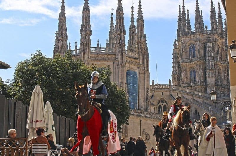 Kathedrale von Burgos Anda Reisen
